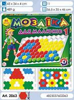 Мозаїка для Малюків 1 ТехноК логика 80ел.