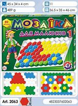 Мозаїка для Малюків 1 ТехноК логіка 80ел.