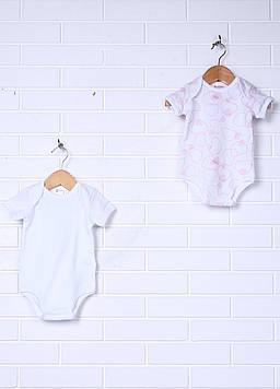 Боди Prenatal 9-12 Months (76 см) розовый, голубой (NN2659_Wblue)