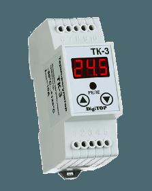 Терморегулятор DigiTOP ТК-3 | цифровой на DIN рейку