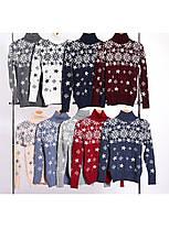 Шерстяні жіночі светри новорічні оптом та в роздріб G 4672, фото 2