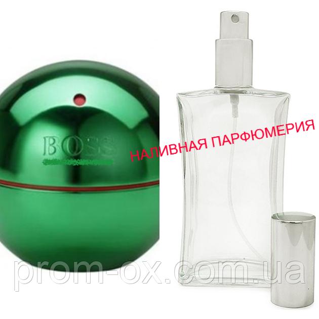 Наливные духи Boss In Motion Green - (от 10мл.)