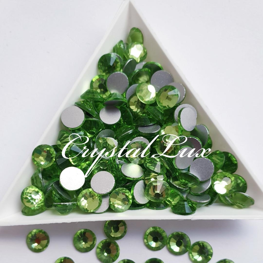"Стрази ss30 Peridot (6.5 мм) 280шт ""Crystal Premium"""