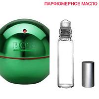 Парфюмерное масло (концентрат)  Boss In Motion Green - 6мл.-10мл.-15мл.