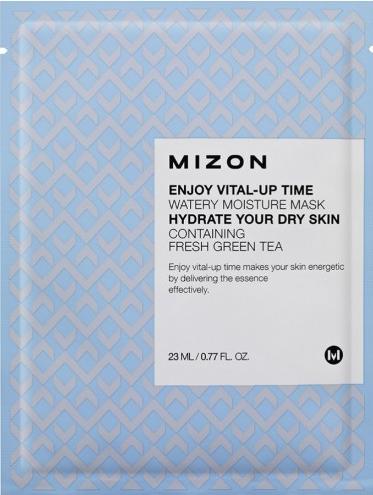 Зволожуюча тканинна маска Mizon Enjoy Vital-Up Time Водянисті Moisture Mask Hydrate Your Dry Skin 25 мл