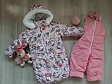 Комбинезон тройка (курточка, штаны и конверт). Для деток с рождения. 13 цветов., фото 6