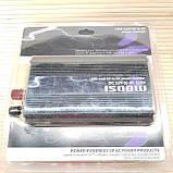 Инвертор 1500 W. Преобразователь напряжения 12v - 220v., фото 3