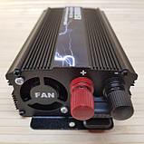 Инвертор 1500 W. Преобразователь напряжения 12v - 220v., фото 4