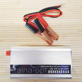 Преобразователь напряжения 12v - 220 v. Инвертор автомобильный 1000W