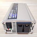 Преобразователь напряжения 12v - 220 v. Инвертор автомобильный 1000W, фото 3