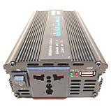 Преобразователь Инвертор 12v-220v UKC SSK 1200W, фото 4
