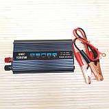 Преобразователь Инвертор 12v-220v UKC SSK 1200W, фото 5