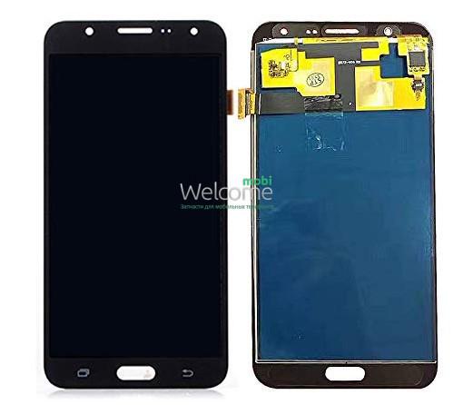 Модуль Samsung SM-J701H Galaxy J7 Neo black дисплей экран, сенсор тач скрин