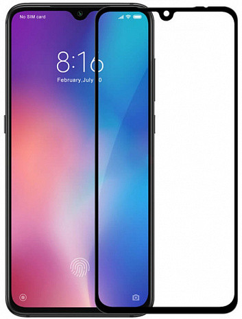 Захисне 5D/6D/9D/11D скло для Xiaomi Mi 9 Lite Full Glue