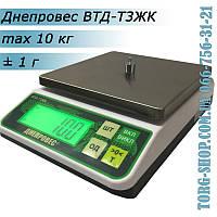 Весы простого взвешивания Днепровес ВТД-Т3ЖК (ВТД-10Т3ЖК)  высокой точности, фото 1