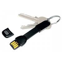 "Брелок-переходник USB-micro на USB черный ""True Utility"""