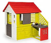 Детский домик с кухней Smoby Nature 810713, фото 1