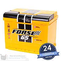 Аккумулятор автомобильный FORSE 6CT 65Ah, пусковой ток 630А [–|+]