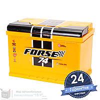 Аккумулятор автомобильный FORSE 6CT 74Ah, пусковой ток 720А [–|+]