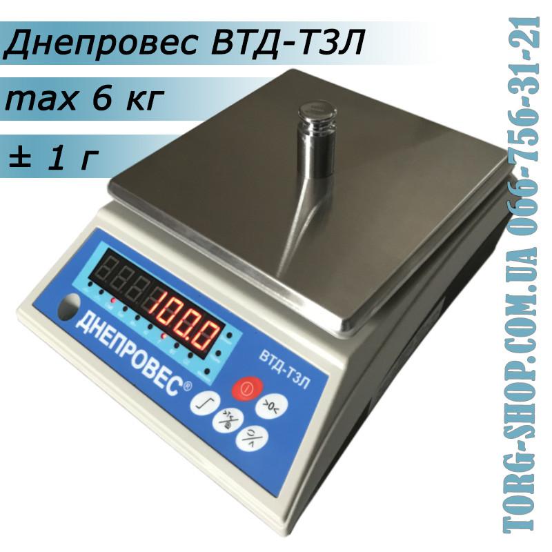 Фасувальні ваги Днепровес ВТД-Т3Л (ВТД-6Т3Л)