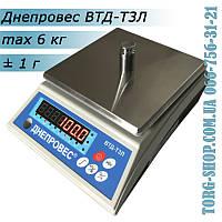 Фасовочные весы Днепровес ВТД-Т3Л (ВТД-6Т3Л), фото 1