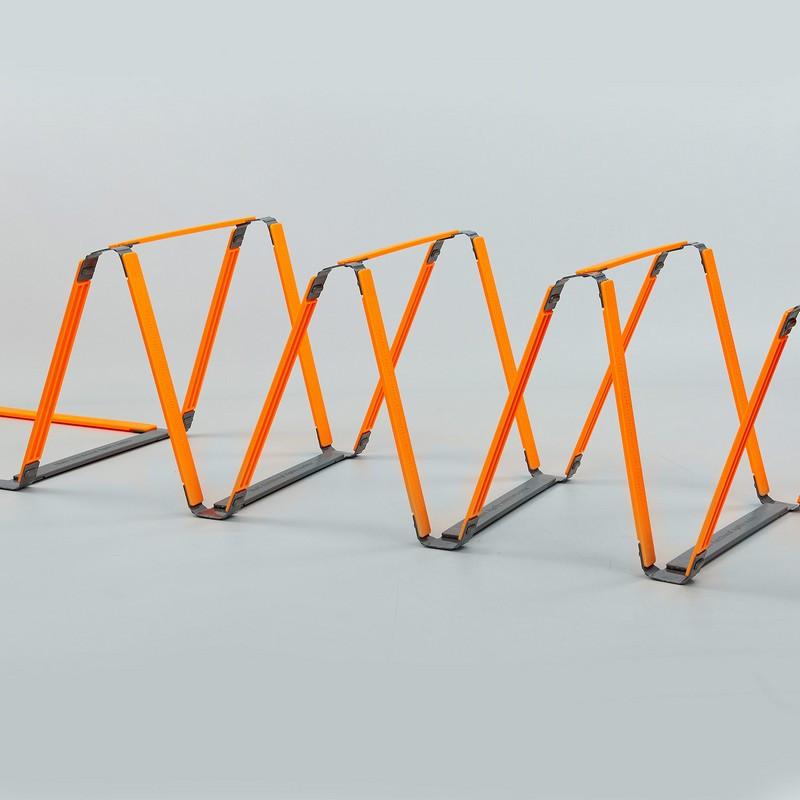 Координационная лестница дорожка с барьерами (10 перекладин) FB-0502