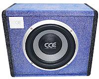Сабвуфер Активний Корпусний RIAS C-180AMP 10 дюймів Blue (4_933207223)