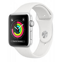 Смарт-часы Apple Watch Series3 GPS, 38mm Silver Aluminium Case (MTEY2FS/A)