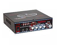 Усилитель звука UKC SN-308BT USB/SD/MP3 Black (4_264785832), фото 1