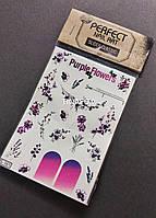Наклейки слайдеры на водной основе для дизайна ногтей Perfect Nail Art, 161