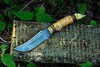 """Рибальський ніж ручної роботи з дамаської сталі """"Осетер"""""""
