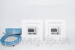Терморегулятор для теплого пола Schneider Asfora белый +125 ° С