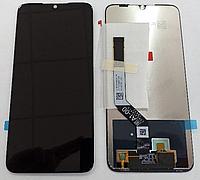 Экранный модуль для Xiaomi Redmi Note 7 /Note 7 Pro черн .,  (дисплей + сенсорный экран)