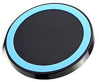 Беспроводное зарядное устройство  Синий