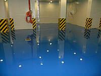 Наливной пол TM PoliBest  (толщина 2-3 мм) гладкое, изностойкое покрытие.