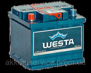 Аккумулятор автомобильный Westa 60AH R+ 600A