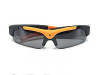 Спортивные очки с камерой HD 1080 P Glass-Cam  Оранжевый