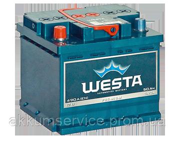 Аккумулятор автомобильный Westa 60AH L+ 600A