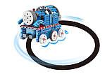 Конструктор STEM электронный HIQ B722 2-в-1 150 деталей сенсорный (машинка, поезд), фото 5