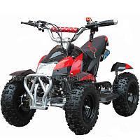 Квадроцикл детский ATV 421B, 49сс, 45км/час ЧЕРНО-КРАСНЫЙ - купить оптом, фото 1