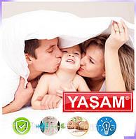 Электропростынь - байковая, двуспальная 120Х160 – Турция, YASAM подогревом🔥