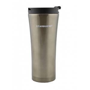 Термокружка Starbucks 500 мл металлическая Тёмно-Серый