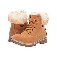 Ботинки Lugz Rucker Hi Fur White/Cream/Tan/Gum - Оригинал, фото 1