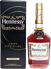Коньяк Hennessy (Хеннесси) VS 4 года выдержки 0.7 л 40% в подарочной упаковке (3245995960015)