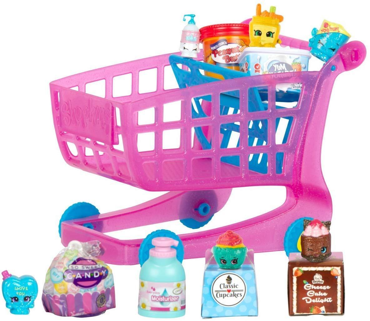 Набор Тележка с продуктами шопкинс. Shopkins Small Mart Shopping Cart