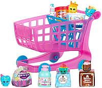 Набор Тележка с продуктами шопкинс. Shopkins Small Mart Shopping Cart, фото 1