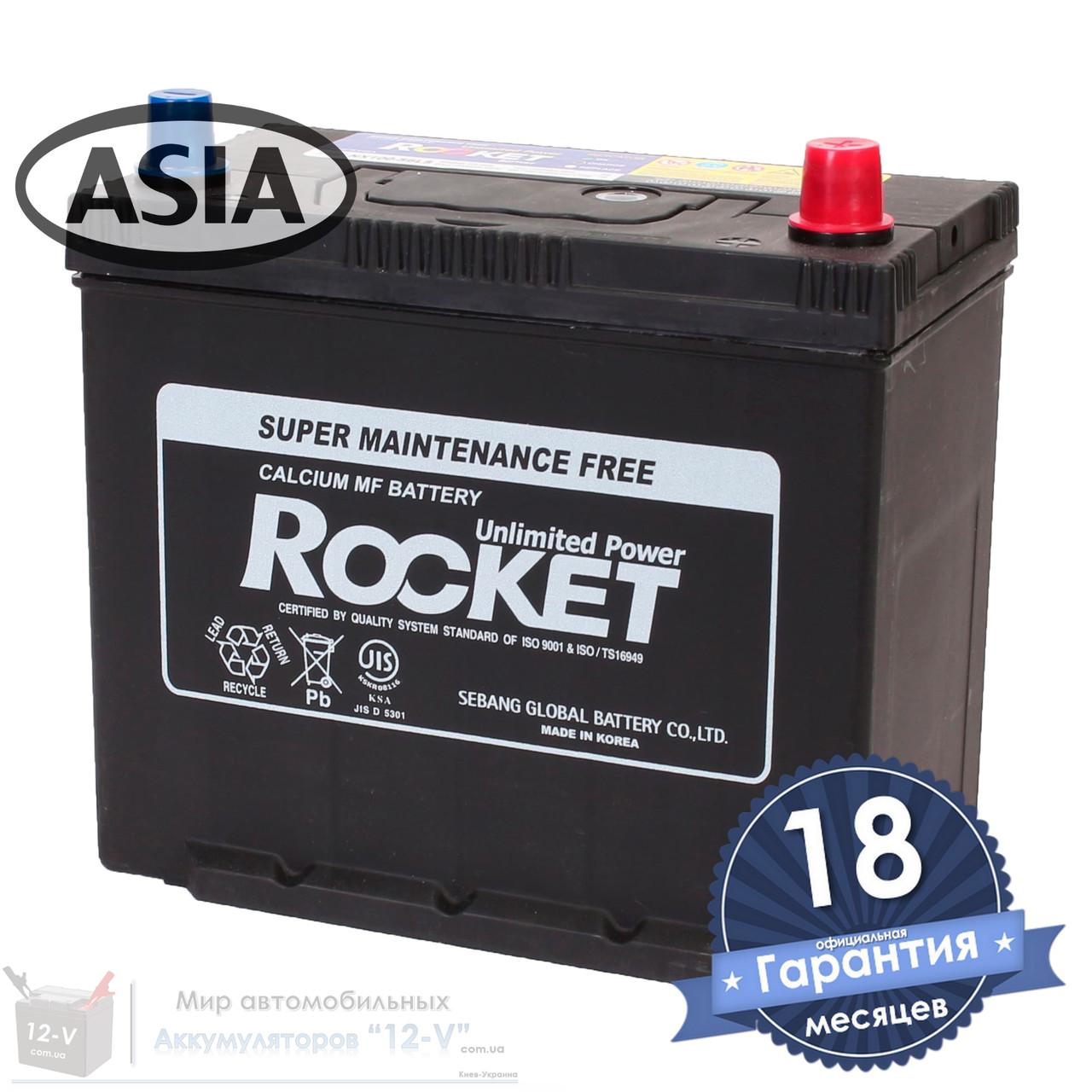 Аккумулятор автомобильный ROCKET 6CT 45Ah ASIA, пусковой ток 540А [–|+] (NX100-S6LS)