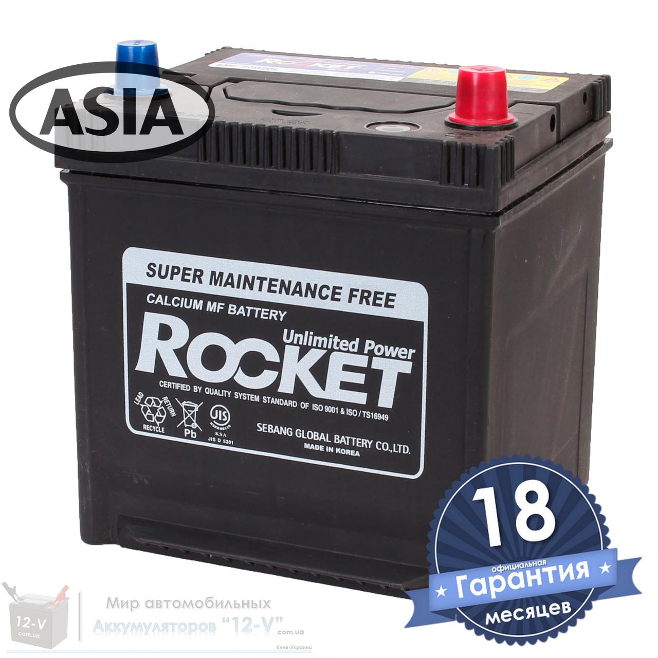 Аккумулятор автомобильный ROCKET 6CT 50Ah ASIA, пусковой ток 580А [–|+] (50D20L)