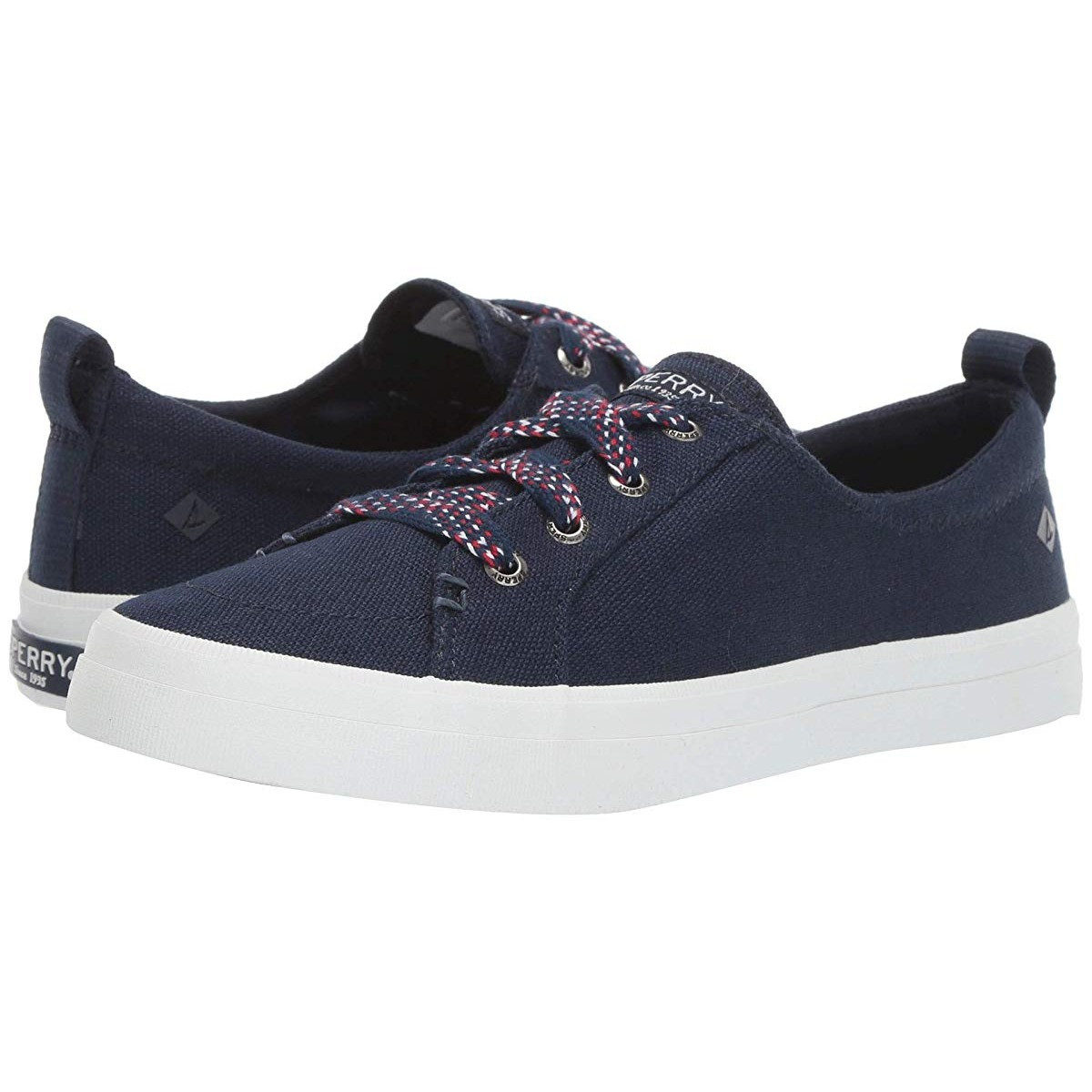 Кроссовки Sperry Crest Vibe Checkered Lace Navy - Оригинал, фото 1