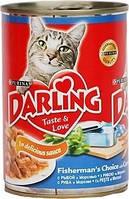 Darling 400 гр консерва c рыбой и морковкой